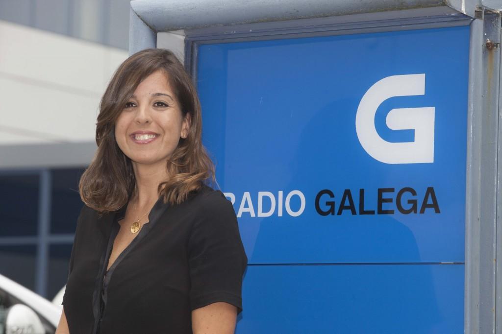 Consuelo Silveira en la Radio Galega