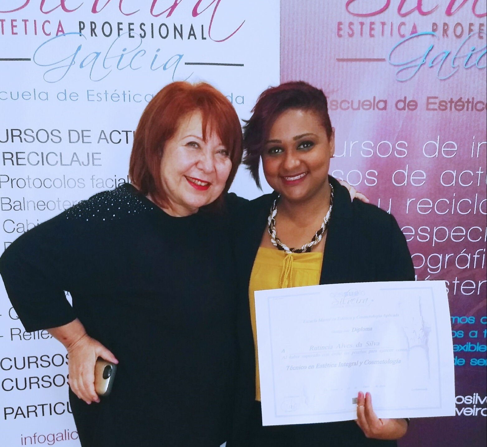 "Ruti Alves, alumna de Consuelo Silveira: ""Lo mejor son los grupos reducidos"""