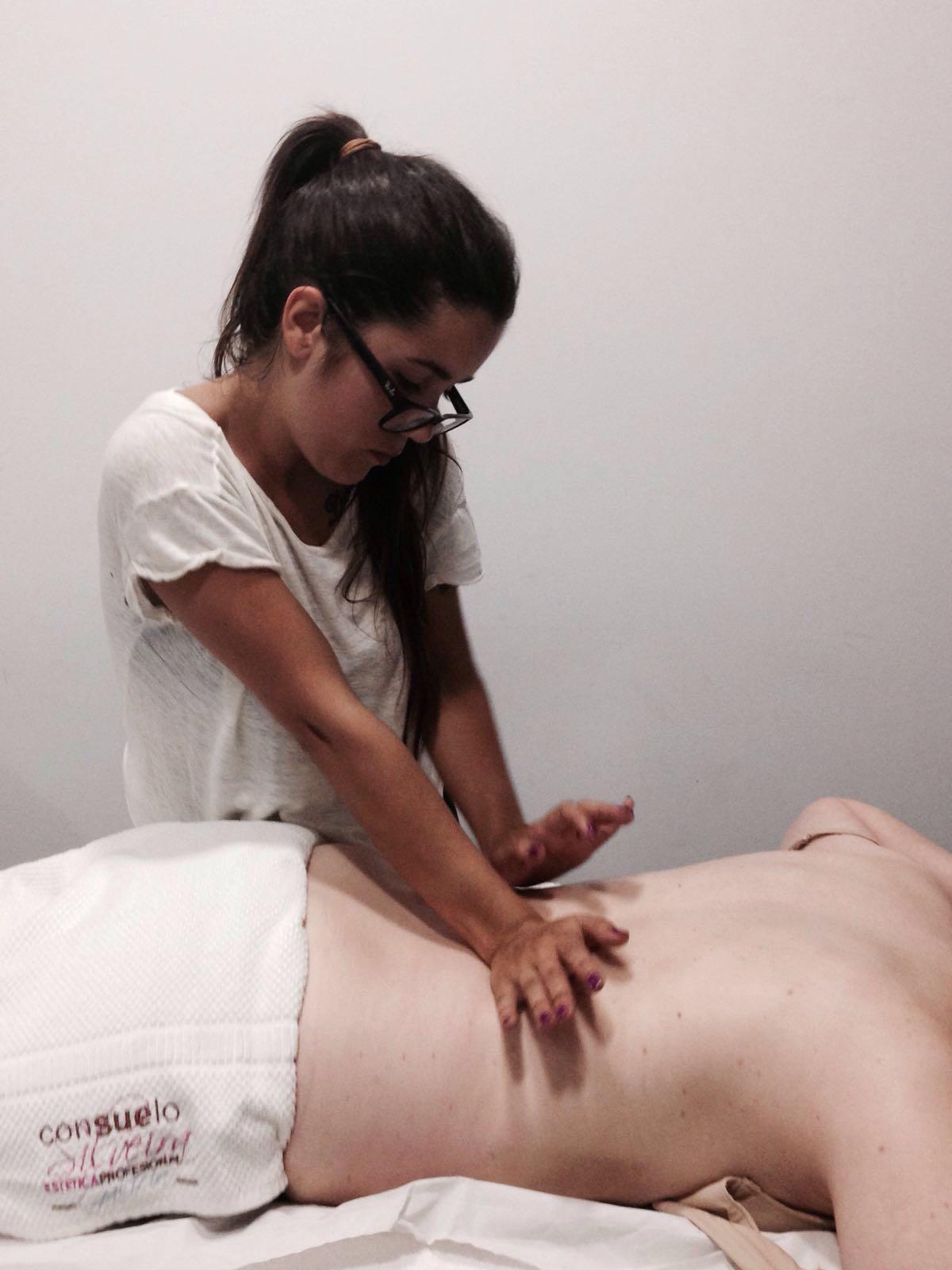 """Guadalupe Torrente: alumna de Consuelo Silveira: """"El masaje mioactivo me encanta"""""""