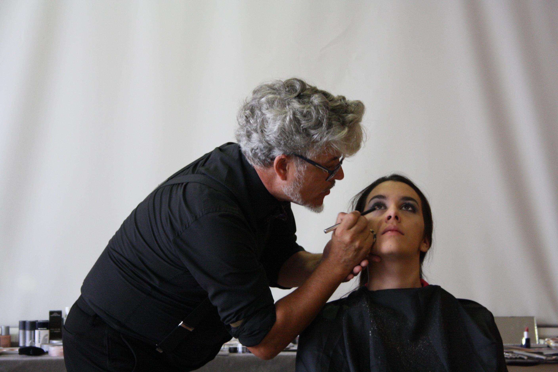 Master Class con el maquillador José Sande en Consuelo Silveira Galicia